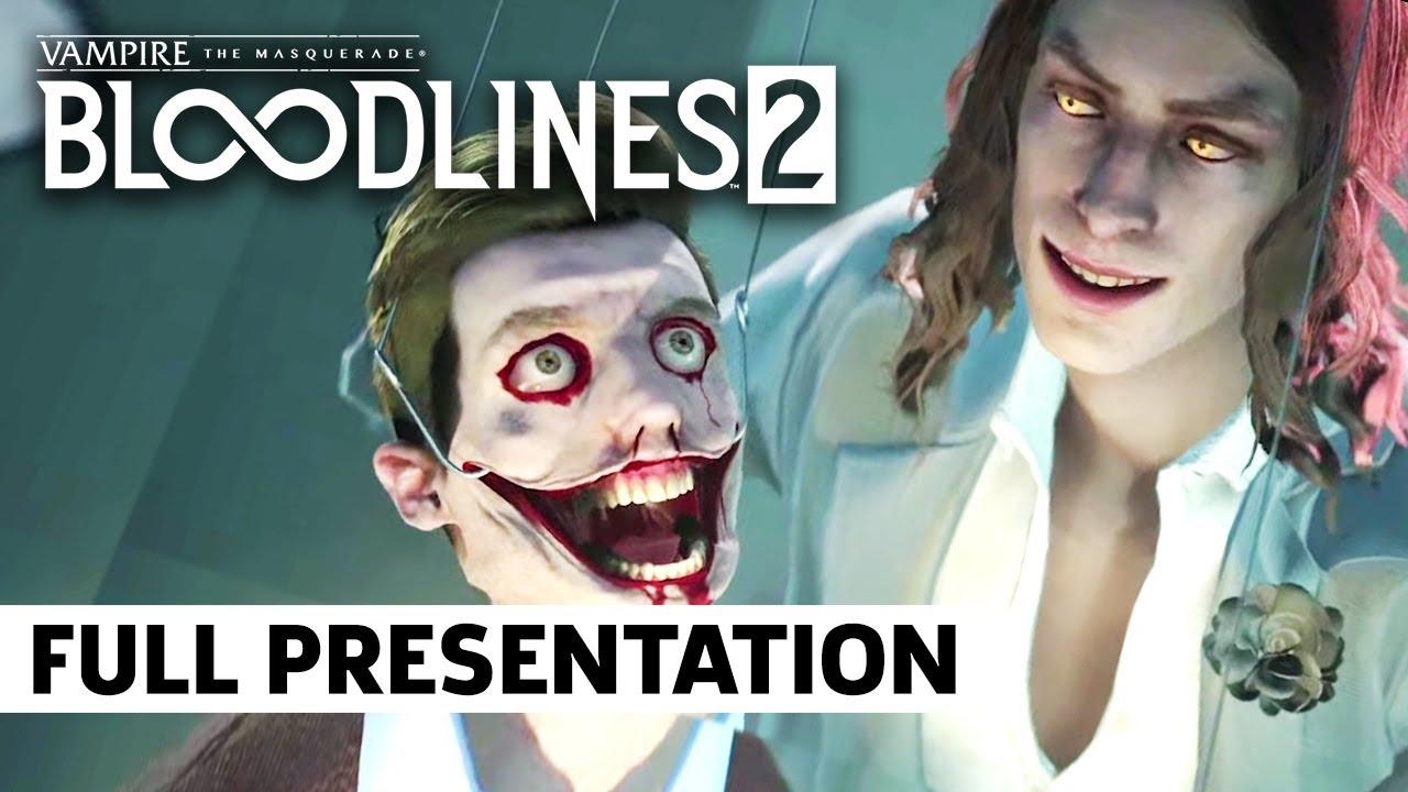 FULL Vampire: The Masquerade Bloodlines 2 Presentation   Paradox Interactive Showcase - Personal ...