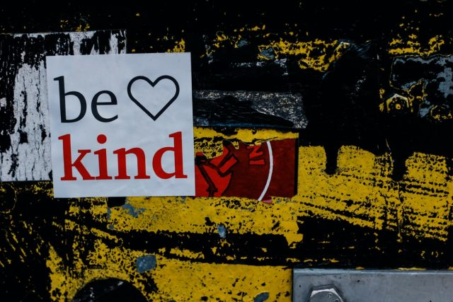 the cost of being kind