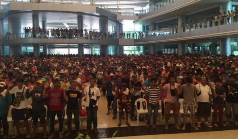 17,211 Suspected Drug Pusher and Users Surrendered in Davao Region