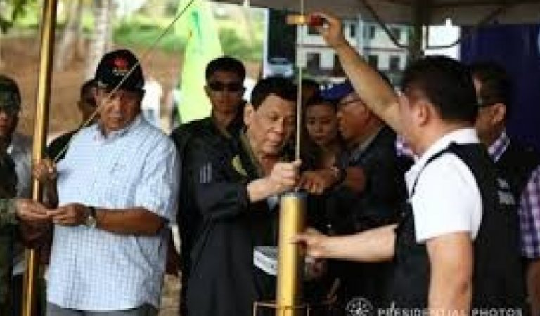 PRRD graces groundbreaking rites of villas for soldiers and police