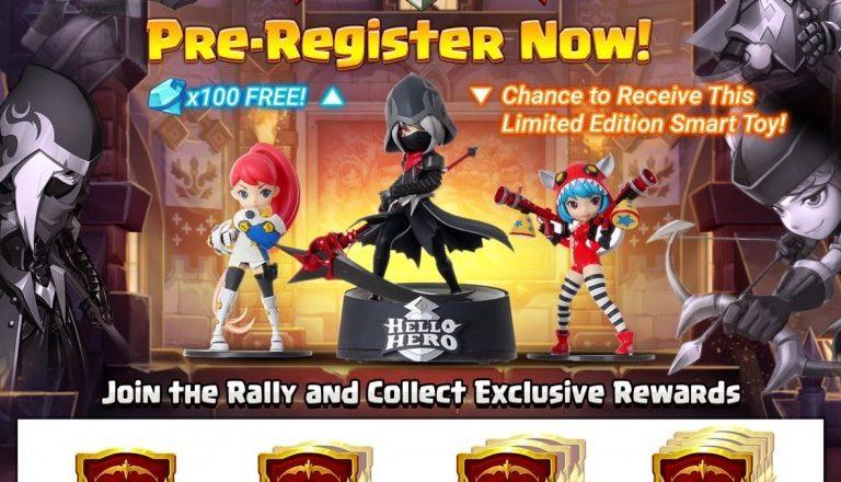 Fincon's Mobile RPG, Hello Hero Sequel Opens for Pre-registration!