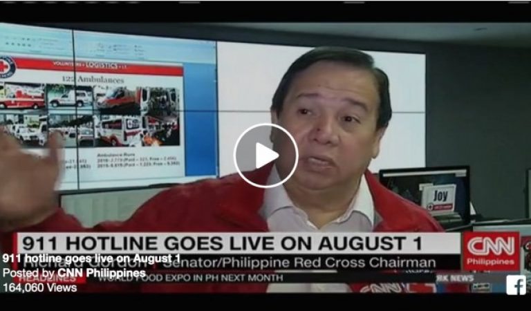 911 hotline goes live on August 1, 2016
