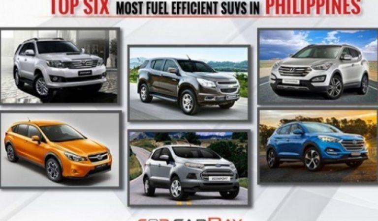 Top Six most fuel efficient SUVs in Philippines