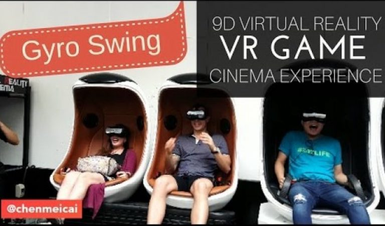 9D Virtual Reality VR Cinema Experience – SM MOA 2016