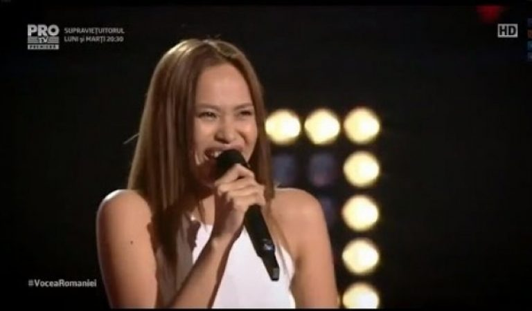 A Proud Filipina joined The Voice of Romania 2016