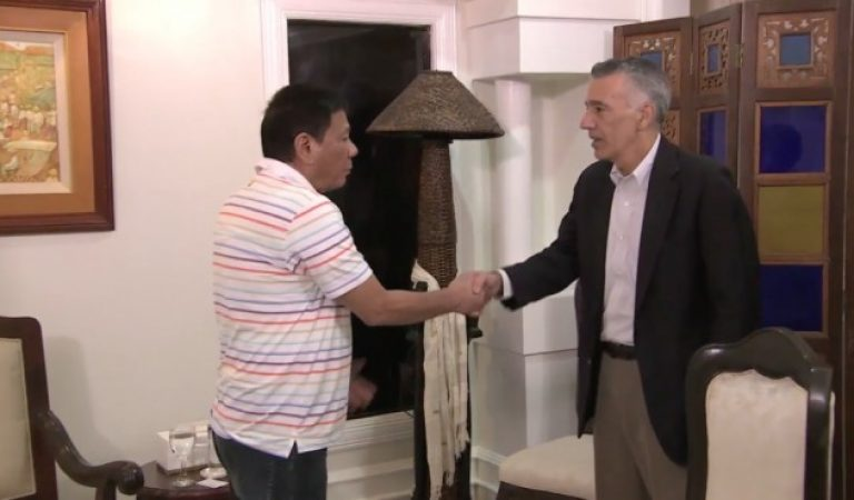 'Are you with us or not?' Duterte said to US Ambassador Goldberg