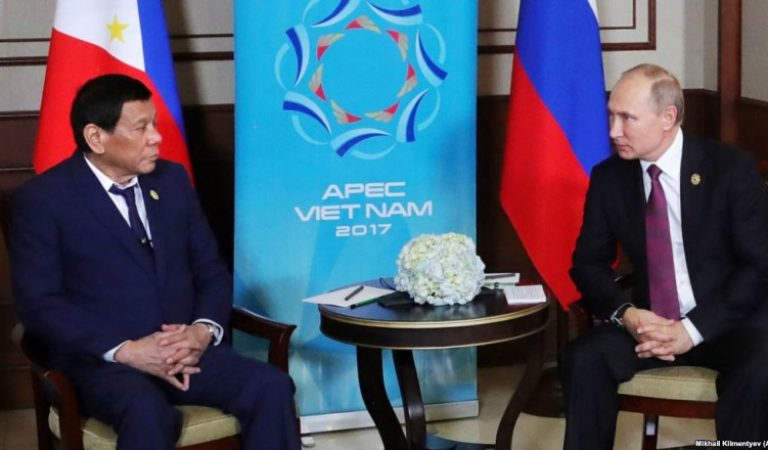 Duterte thanks Putin for Russia's timely assistance in Marawi siege