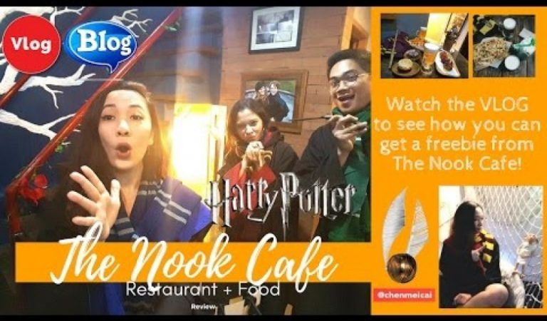 "Experience Hogwarts in this Harry Potter-Inspired ""The Nook Cafe"""