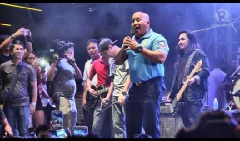 General Bato sings at Rakrakan 2017 'OPM Against Drugs'