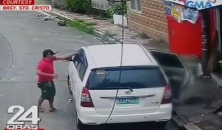 #HuliCam: Lalaki, pinagbabaril at ninakawan habang nasa loob ng sasakyan