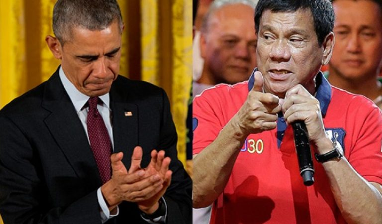Obama said Duterte Administration can make the Philippines the fastest richest growing country!