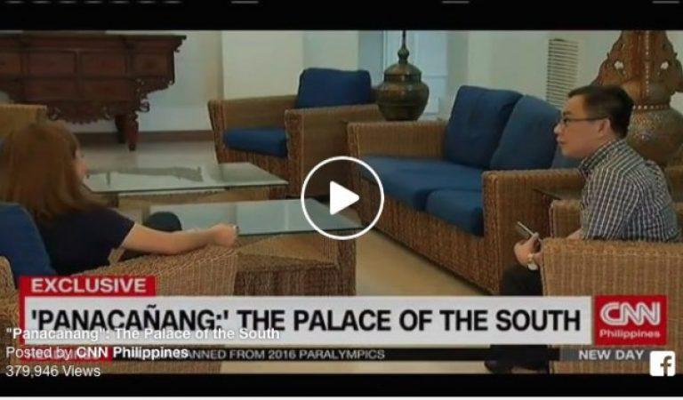 'Panacañang': The Malacañang of the South