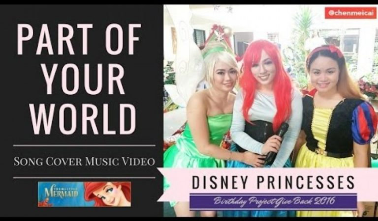 Part of Your World – Little Mermaid Song Cover Music Video