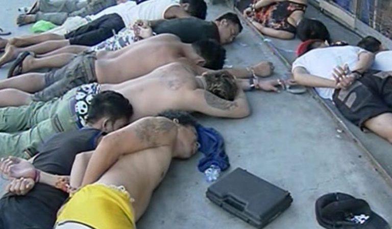 PNP-Cainta naka-engkwentro ang Highway Boys Group, 15 arestado at 4 patay