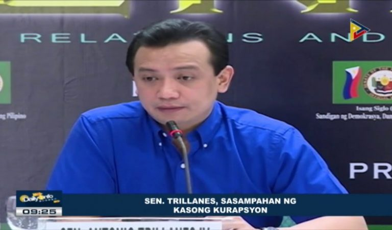 Sen. Trillanes linked to multi-million peso ghost projects