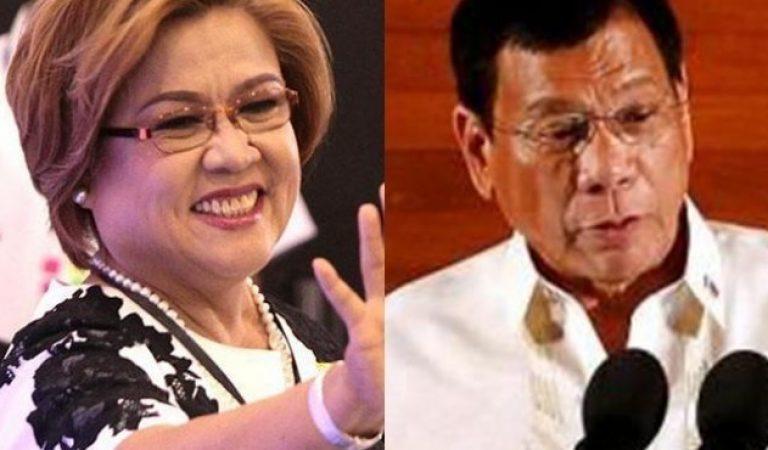 Senator De Lima: 'Duterte lacked a statement on the spate of drug-related killings'