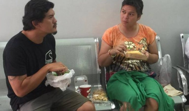 SPOTTED! Inday Sara Duterte and Baste Duterte in Cebu Airport