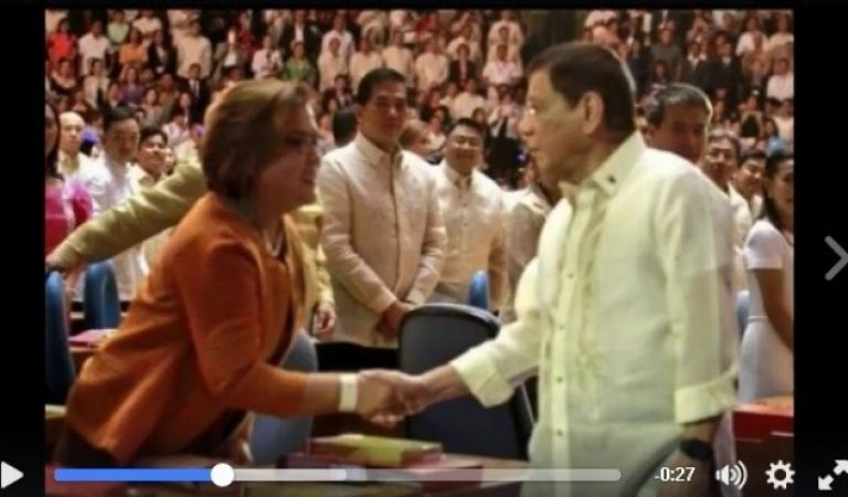 TRENDING: Shaking of Leila De Lima's hands initiated by President Duterte!