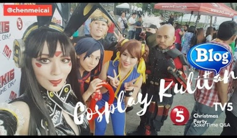 TV5 Pasko2K16 Cosplay Christmas Party Event Kulitan Moments