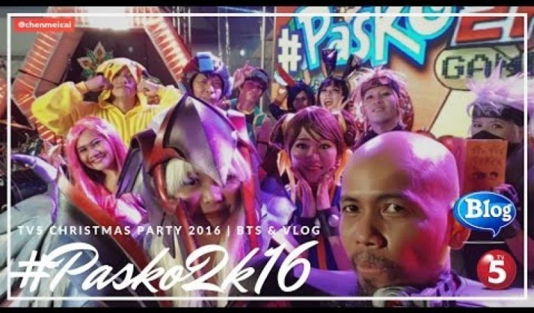 TV5 Pasko2K16 Cosplay Christmas Party Event VLOG