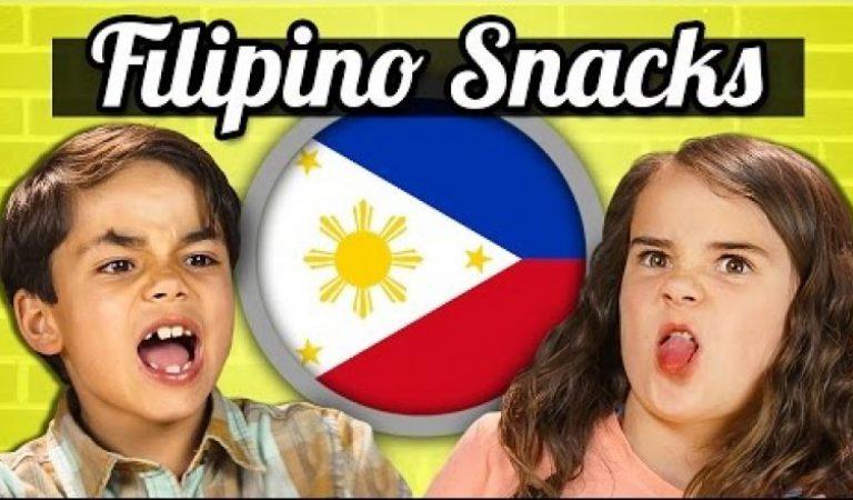 Watch Kids try Filipino Snacks!
