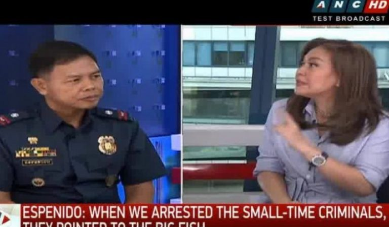 Watch the full interview with Police Chief Espenido in #ANCHeadstart