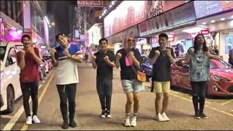 Vice Ganda at Hashtags Sumayaw sa Gitna ng Kalsada!