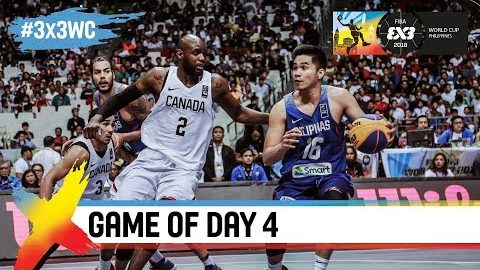 Canada vs Philippines FIBA 3×3 World Cup 2018 [FULL GAME]
