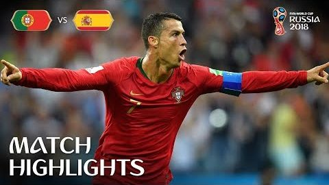 Portugal v Spain – 2018 FIFA World Cup Russia™ – MATCH 3