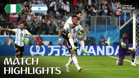 Nigeria v Argentina – 2018 FIFA World Cup Russia™ – Match 39