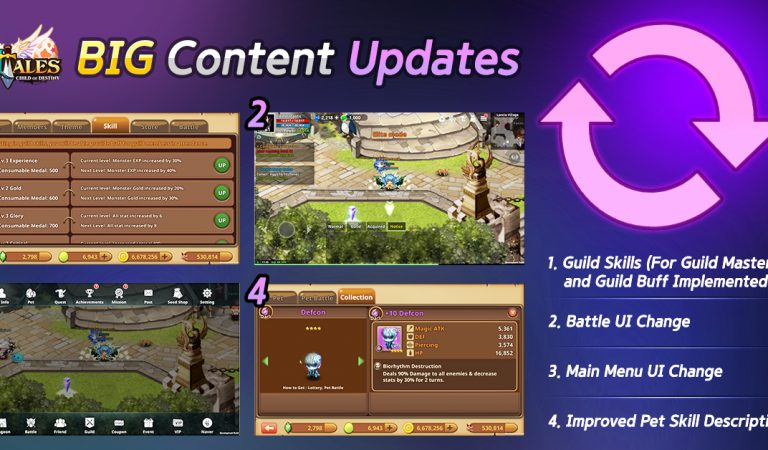 NTales' Sets Another BIG Content Updates!