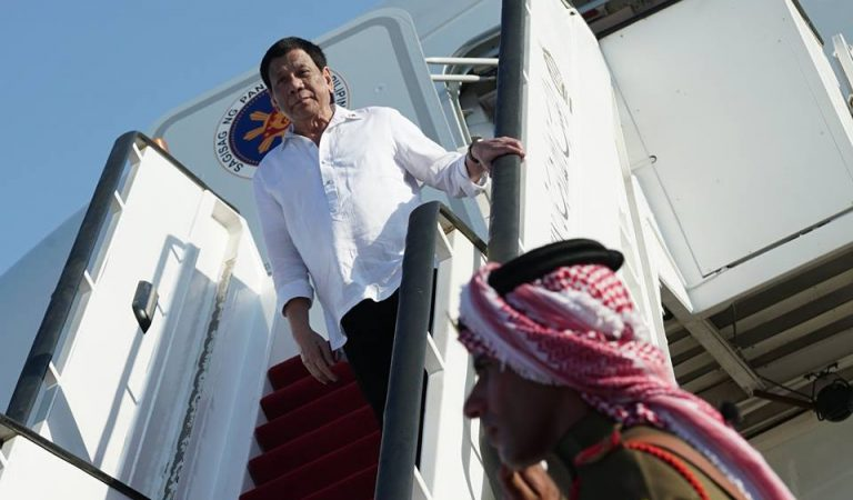 Pres. Duterte Arrives In Hashemite Kingdom of Jordan [IN PHOTOS]