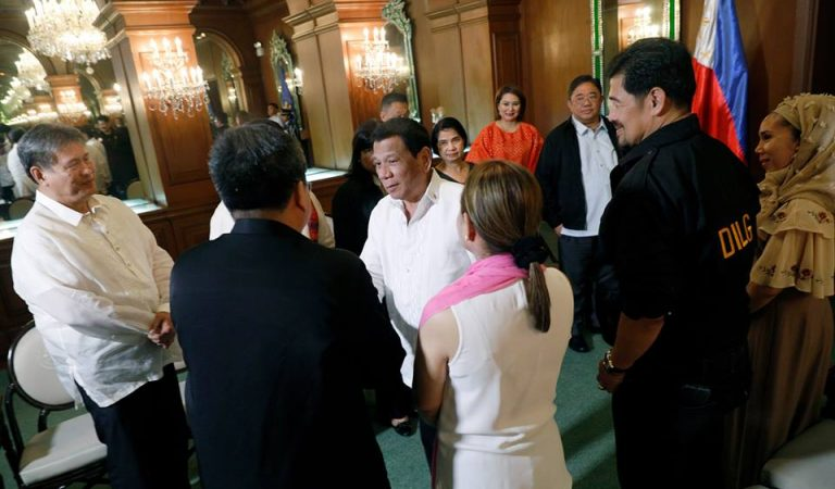 Pres. Duterte meets with DILG, MRRD-NECC, Coop-Natcco and SK [IN PHOTOS]