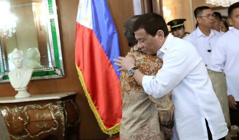 Pres. Duterte With Indonesian and Chinese Ambassadors to PH  [IN PHOTOS]