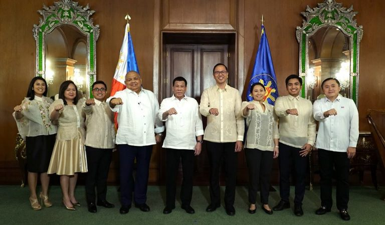 Pres. Duterte Administers Oath to New Gov't Appointees [IN PHOTOS]