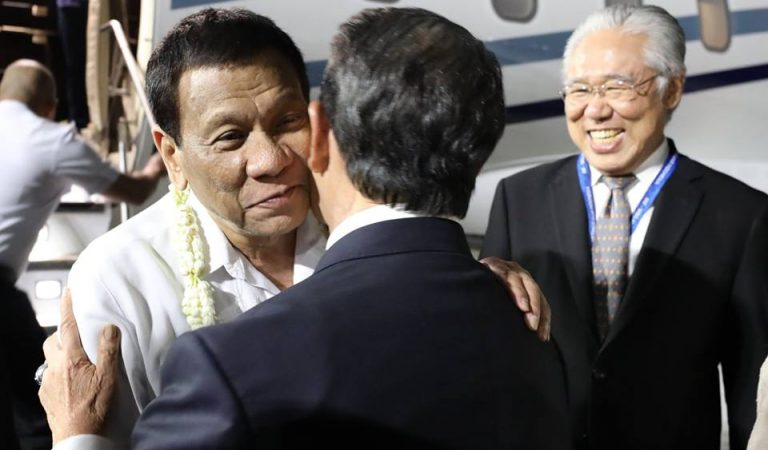 Pres. Duterte Arrives in Indonesia for ASEAN Leaders' Gathering [IN PHOTOS]
