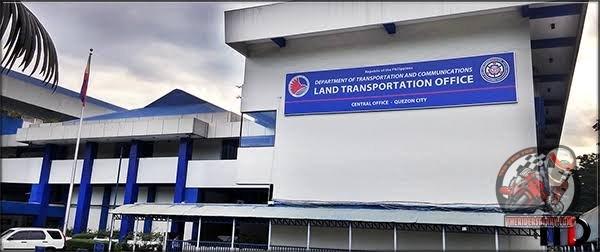 LTO Motorcycle Registration Renewal Fee 2018