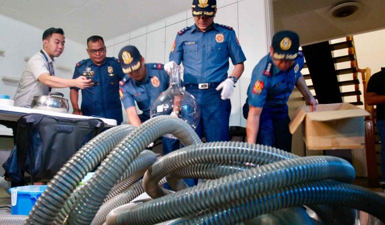 P204-M shabu precursor, equipment seized in San Juan