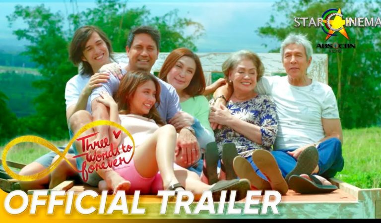 Official Trailer | 'Three Words To Forever' | Sharon Cuneta, Richard Gomez, Kathryn Bernardo