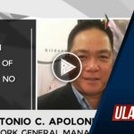PTV GM Apolonio, nilinaw ang pagpapalabas ng chinese programs