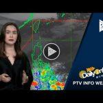PTV INFO WEATHER: Tail-end of a cold front, patuloy na umiiral sa Kabisayaan at Mindanao