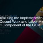 Realizing the Implementation of the Decent Work 12/9/2018