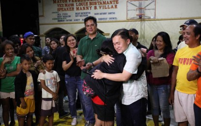 Go extends aid to QC fire victims