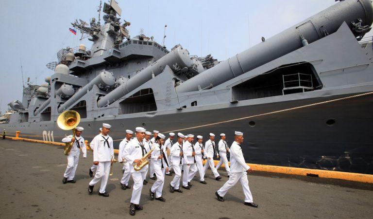 Visit of Russian flotilla to strengthen naval ties