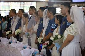 19 couples tie knots at annual PNP mass wedding