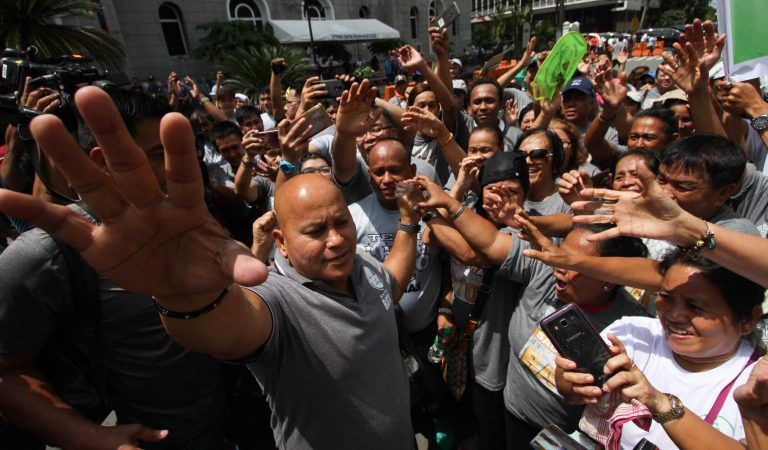 'No need to campaign, my mistahs will vote for me': Bato