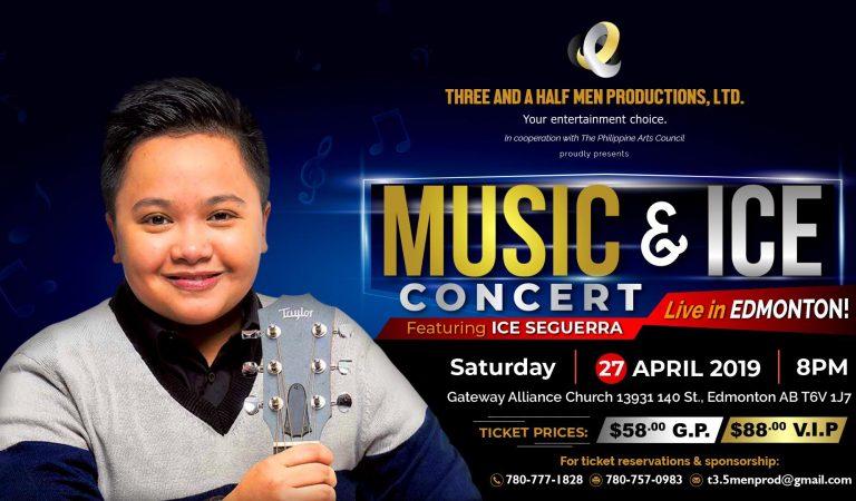 Music & Ice Concert Live in Edmonton! April 27 Saturday at Gateway Alliance Church