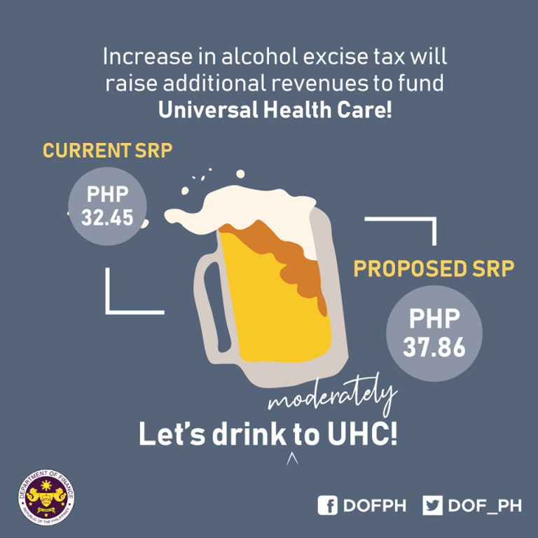 To Increase Alcohol Tax for UHC