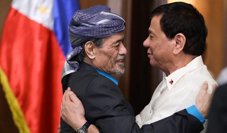 Duterte wants gentleman's agreement with Misuari