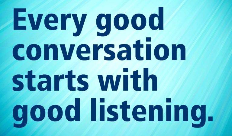 Tips for Effective Listening Skills
